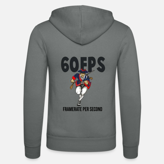 Retrogaming Hoodies & Sweatshirts - Computer games, players, computer games, controlle - Unisex Zip Hoodie grey