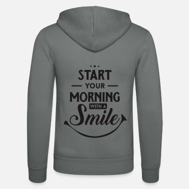 Start Aamu - positiivinen - Start - Start - Happy - Smile - Unisex hupputakki