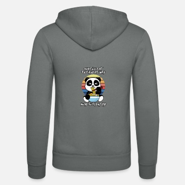 Happiness Kung fu fight - Unisex Zip Hoodie