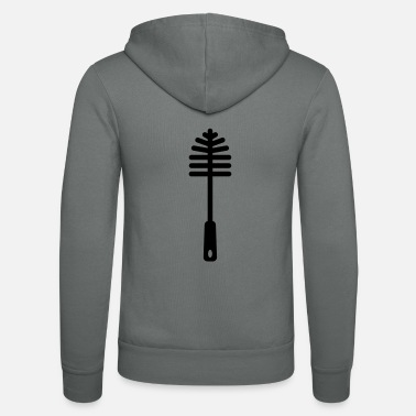 Toilet Brush Toilet brush - Unisex Zip Hoodie