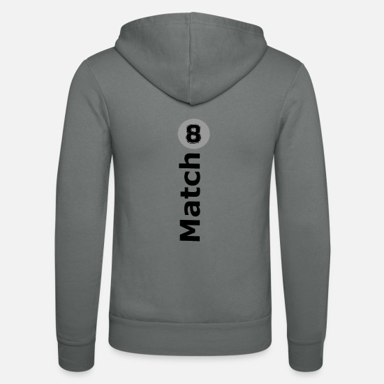 Matching Outfit Hoodies & Sweatshirts - Match 8 - Unisex Zip Hoodie grey