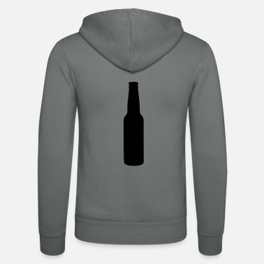 beer bottle - Unisex Zip Hoodie