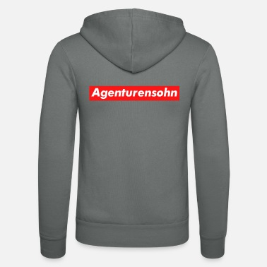 Agency Agency Son Advertising Agency Advertising Agency Gift - Unisex Zip Hoodie