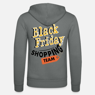 Girlie Black Friday Shopping Team - Unisex Kapuzenjacke
