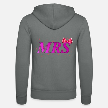 Married Woman Mrs - Married woman - Unisex Zip Hoodie
