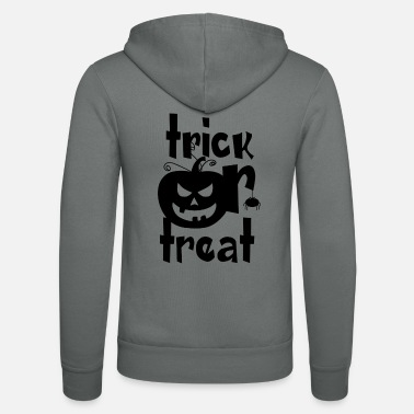 Trick Or Treat Trick eller Treat - Trick or Treat - Luvjacka unisex från Bella + Canvas