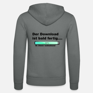 Download The download is done - Unisex Zip Hoodie