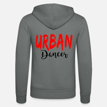 Urban Urban Dancer - Urban Dance Shirt - Unisex hættejakke fra Bella + Canvas