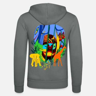 Liane In the jungle - Unisex Zip Hoodie