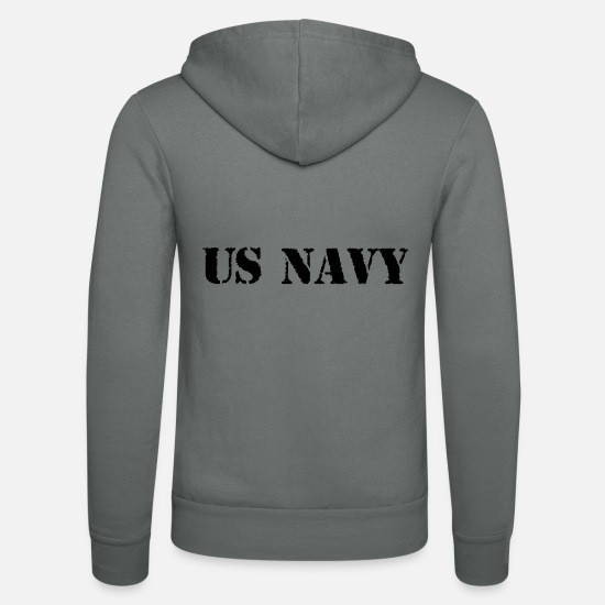 Army Sweat-shirts - us navy - Veste à capuche unisexe gris