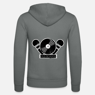 Old School Rap Old School Rap I Old School Hip Hop - Unisex Zip Hoodie