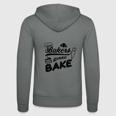 Pastry Chef Baker pastry chef will be baking - Unisex Hooded Jacket by Bella + Canvas