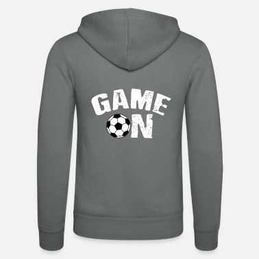 Football Team Football Gift Sport Team Team Sports Ground - Unisex Hooded Jacket by Bella + Canvas