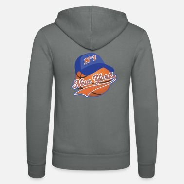 Basketball New York Ball Sport Lovers - Unisex Zip Hoodie