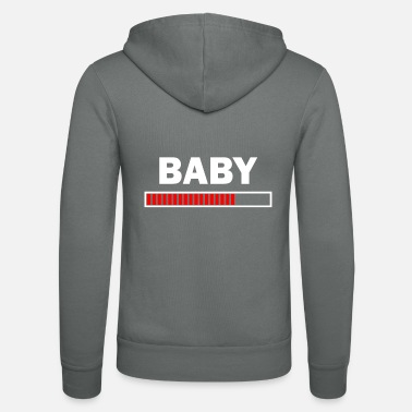 Baby Sayings Pregnant baby sayings - Unisex Zip Hoodie