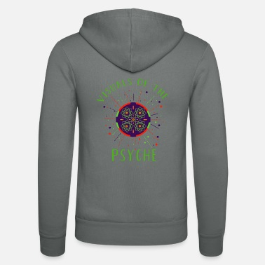 Visuals of the Psyche Psychedelic Arabic Geometry - Unisex Kapuzenjacke