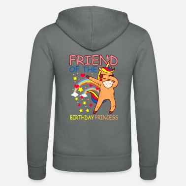 Wear Bestfriend of the Birthday Princess - Unisex Kapuzenjacke