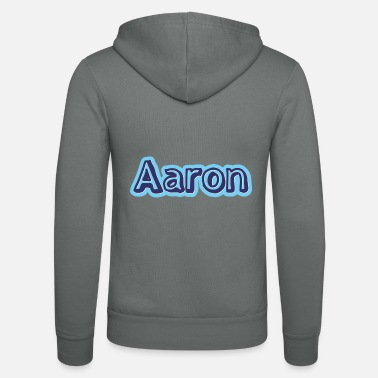 First Name Aaron name first name - Unisex Zip Hoodie