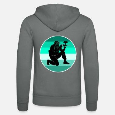 Paintball Paintball - Unisex zip hoodie