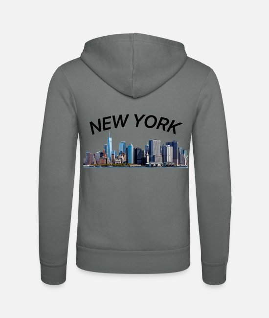 New York City Hoodies & Sweatshirts - New York New York City - Unisex Zip Hoodie grey