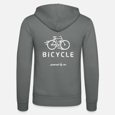 Chain Bicycle mountain bike road bike MTB gift idea - Unisex Zip Hoodie