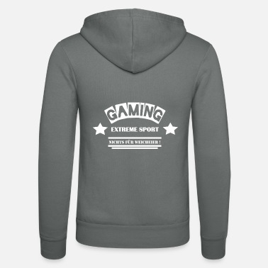 Leible Gaming - Not for the Whimsy - Leibl Designs - Unisex Zip Hoodie