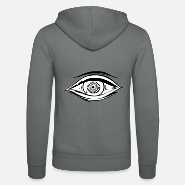 Gettone Illuminati Secret Society Masonic Eye Gift Ord - Felpa con zip unisex