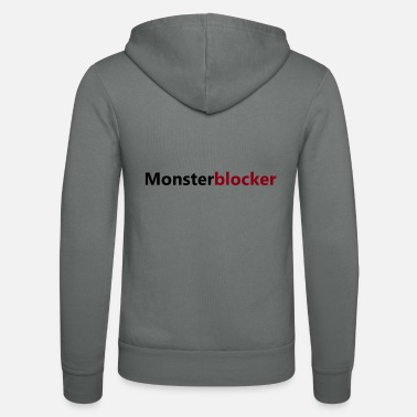 Monster blockers - Unisex zip hoodie