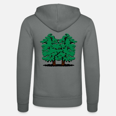 Eco tree Alder Group - Unisex Zip Hoodie