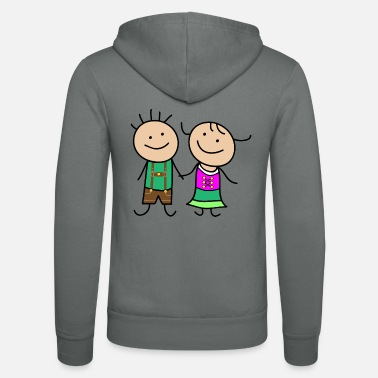 Couple Cute couple - Unisex Zip Hoodie