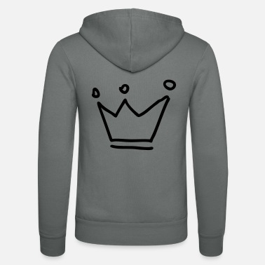 Krona crown king queen beer - Veste à capuche unisexe