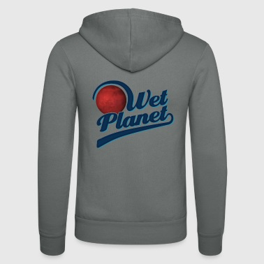 Wet Planet Gift - Unisex Hooded Jacket by Bella + Canvas