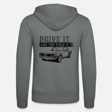 Fast Drive It - Coupe - Unisex Zip Hoodie