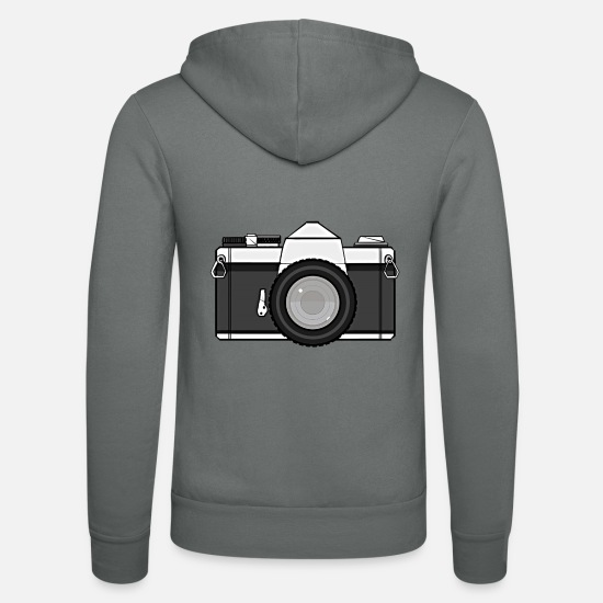 Bellobella Felpe - Shot Your Photo - Felpa con zip unisex grigio
