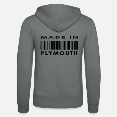 Plymouth Made in Plymouth - Unisex Zip Hoodie