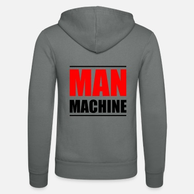 Machine MAN MACHINE - Unisex Zip Hoodie