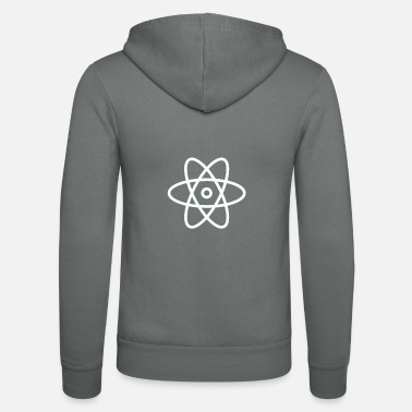 Big Bang ATOM symbol theory big bang - Unisex Zip Hoodie
