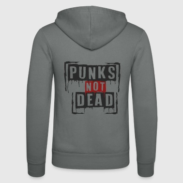 Punk Genre musical Punker Metal Rock Song Texte Idée - Veste à capuche unisexe Bella + Canvas