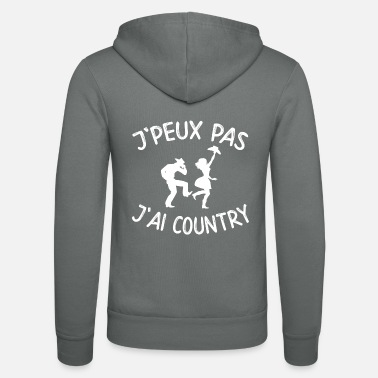 Country J'peux pas j'ai country - Veste à capuche unisexe Bella + Canvas