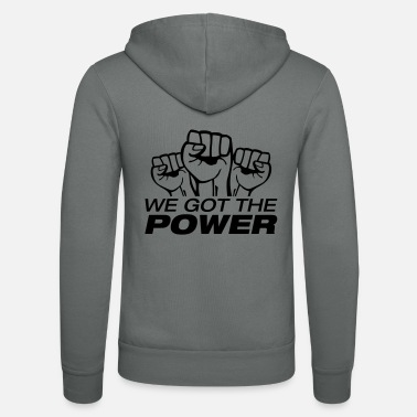 996 we_got_the_power_fa1 - Unisex Zip Hoodie