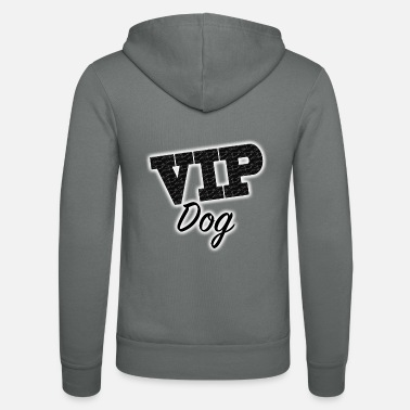Vip VIP DOG - Unisex Hooded Jacket by Bella + Canvas