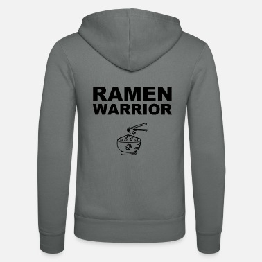 Funny Ramen Warrior Japan Asian Restaurant - Unisex Hooded Jacket by Bella + Canvas
