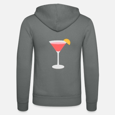 Bar cocktail - Unisex Hooded Jacket by Bella + Canvas