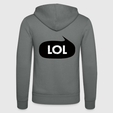 Lol lol - Bluza z kapturem Bella + Canvas typu unisex