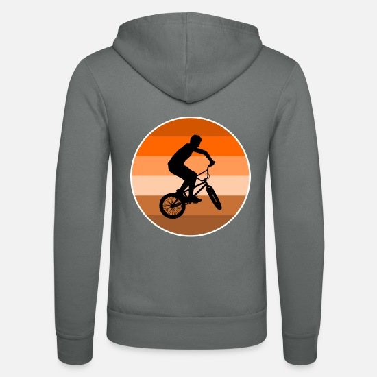 Bicycle Hoodies & Sweatshirts - BMX - Unisex Zip Hoodie grey