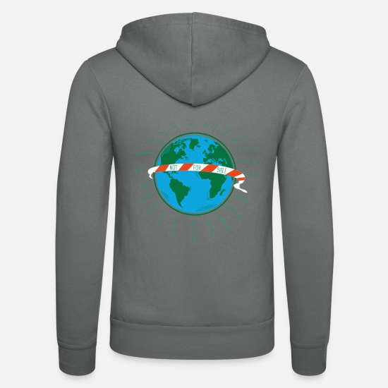 Nature Conservation Hoodies & Sweatshirts - Not for sale - Unisex Zip Hoodie grey