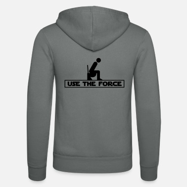 Star Use the Force (Star Wars WC) - Veste à capuche unisexe