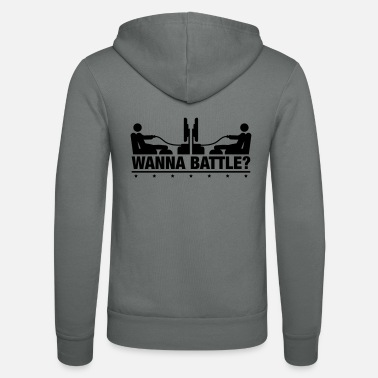 Gaming wanna_battle_go1 - Zip hoodie unisex
