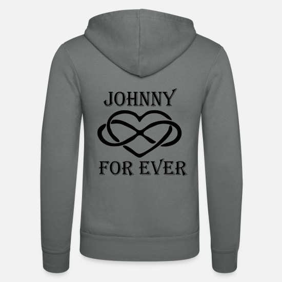 Johnny Sweat-shirts - johnny - Veste à capuche unisexe gris
