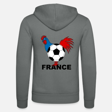 France football french rooster - Unisex Zip Hoodie